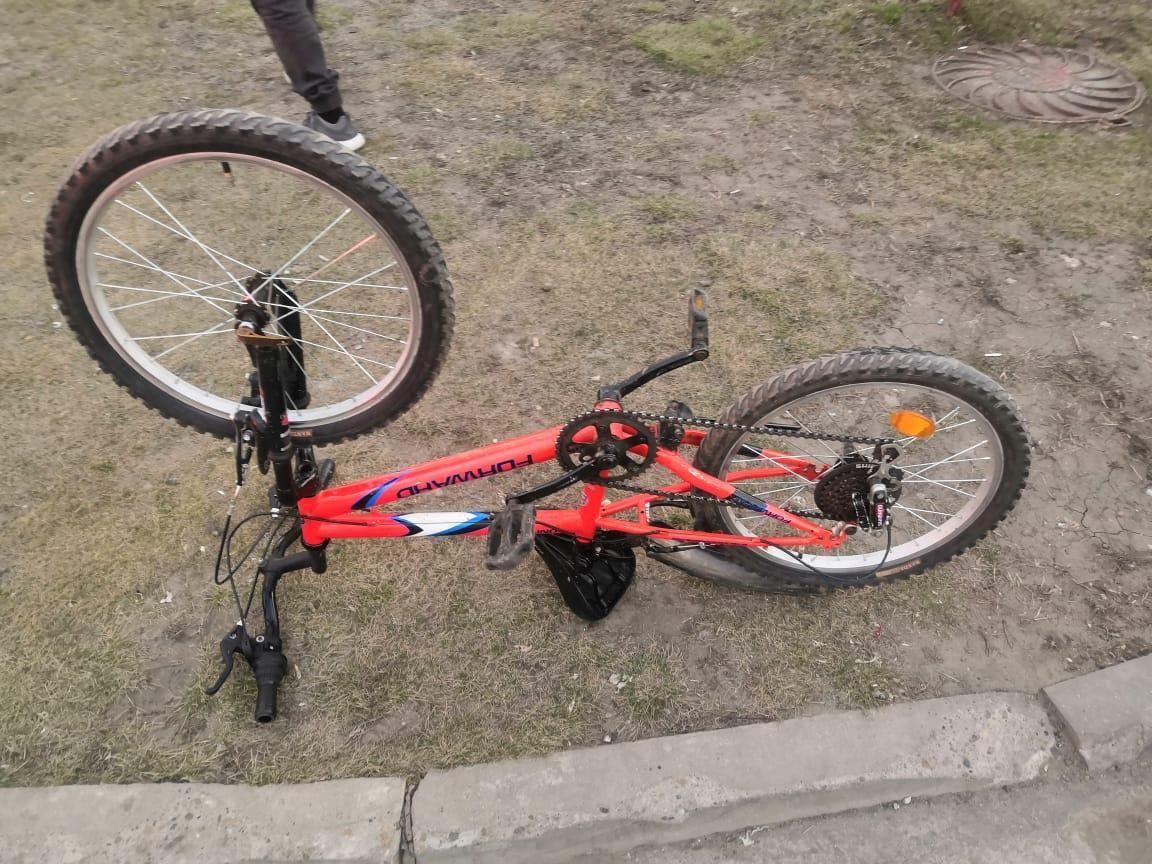 Аодитель автомобиля «Лада Ларгус» сбил семилетнего велосипедиста